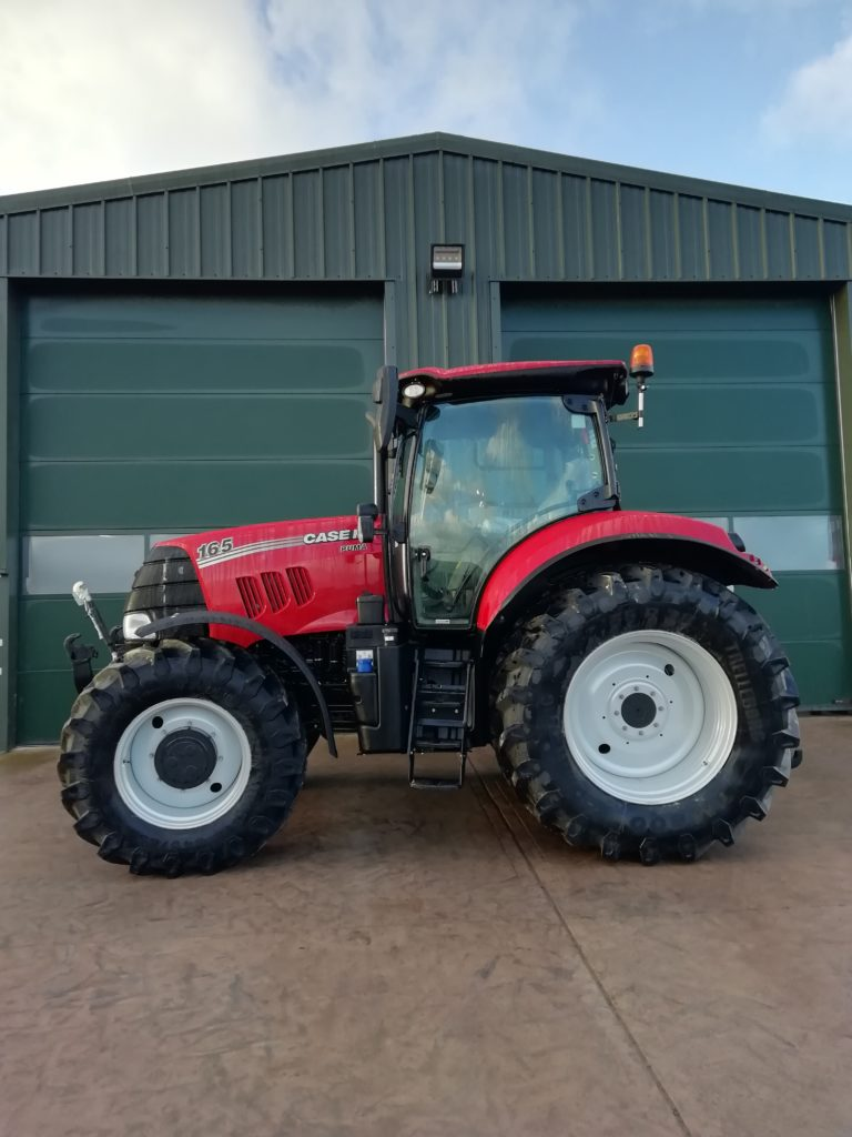 Case Ih Puma 165 R C Dalgliesh Ltd